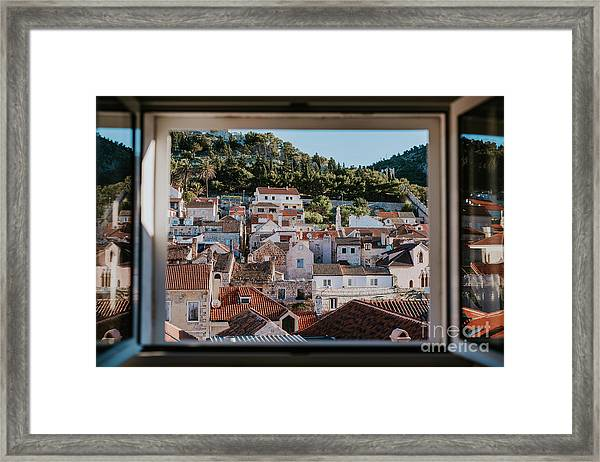 City Of Hvar, Croatia Framed Print