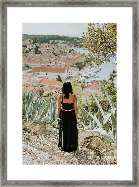 City Of Hvar Framed Print