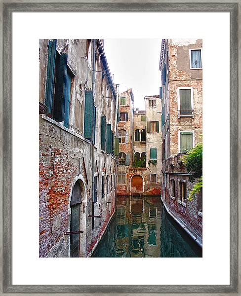 City Of Water Framed Print