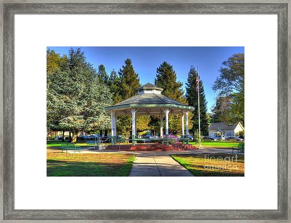 City Park Framed Print