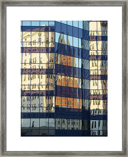 City Reflections 1 Framed Print