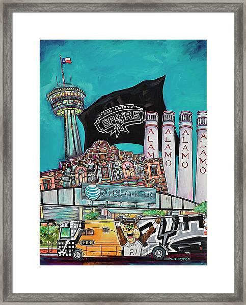 City Spirit Framed Print