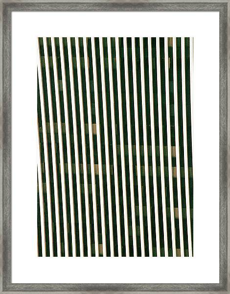 City Stripes Framed Print
