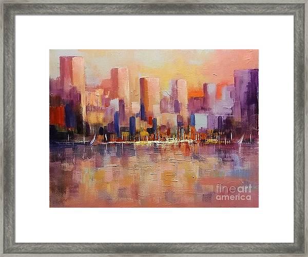 Cityscape 2 Framed Print