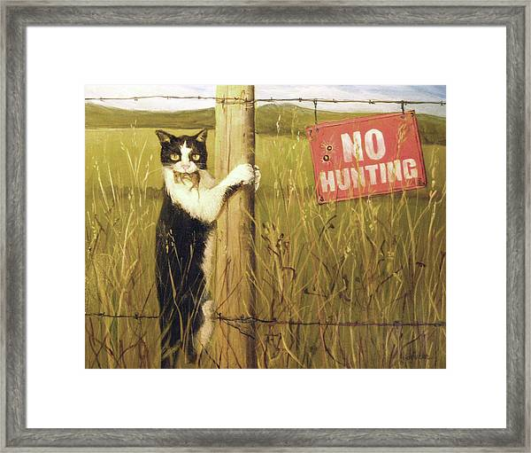 Civil Disobediance Framed Print
