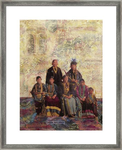 Civilized Framed Print