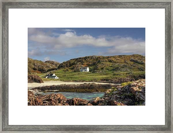 Clachtoll Beach Framed Print