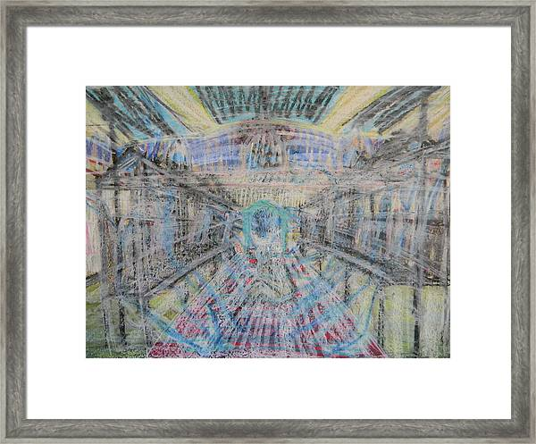 Claiming Of The Soul Framed Print