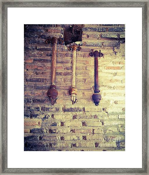 Clappers Framed Print
