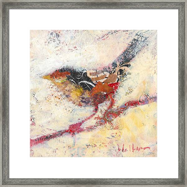 Framed Print featuring the painting Clara by Shelli Walters