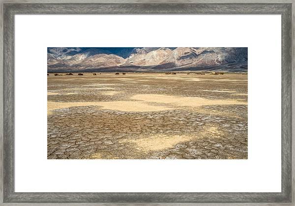 Clark Dry Lake Framed Print
