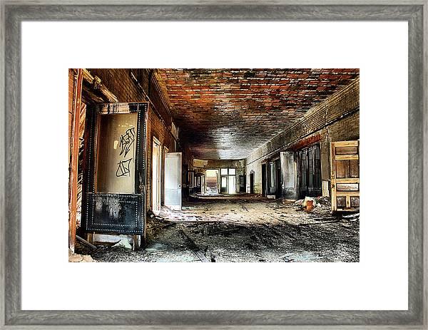 Clark School 26 Framed Print