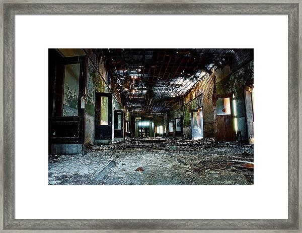Clark School 41 Framed Print