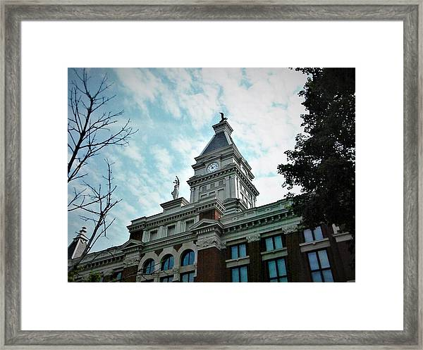Clarksville Tn Courthouse Framed Print