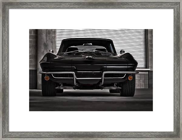 Classic Black Framed Print