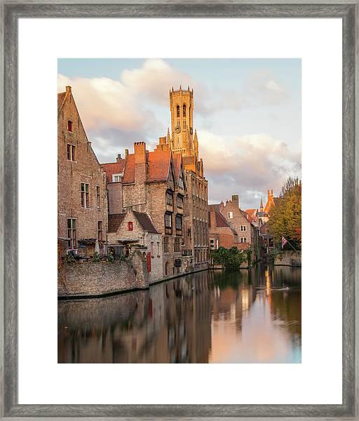 Classic Bruges Framed Print
