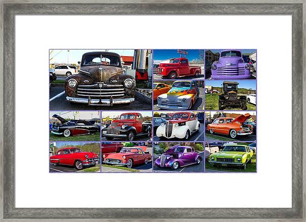 Classic Cars Framed Print