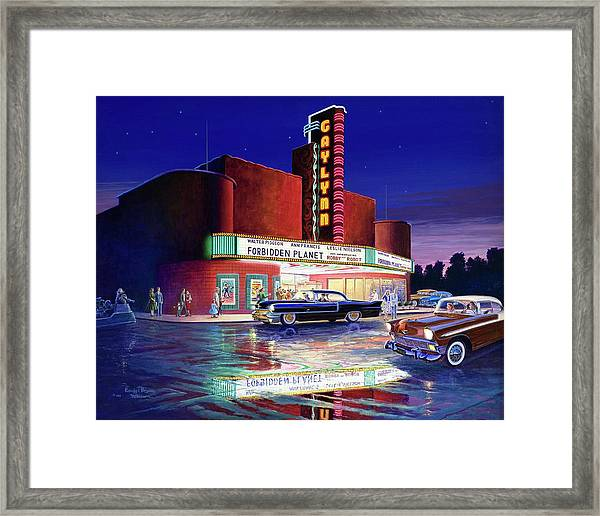 Classic Debut -  The Gaylynn Theatre Framed Print