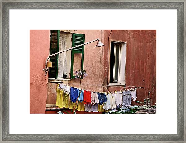 Classic Hand Washing  Framed Print