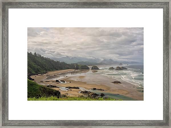 Classic Oregon Coast Framed Print