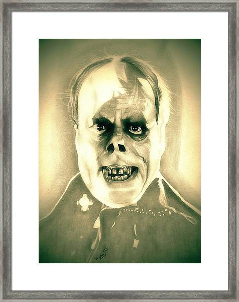 Classic Phantom Of The Opera Framed Print