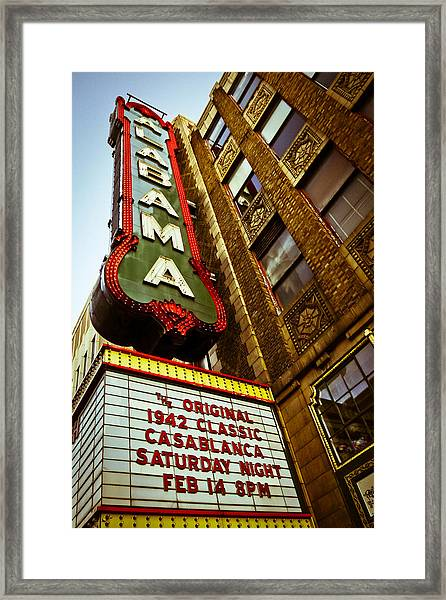 Classic Showing At A Classic Framed Print