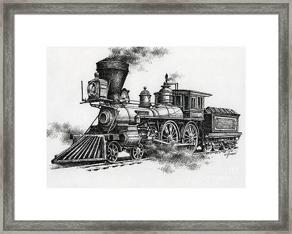 Classic Steam Framed Print