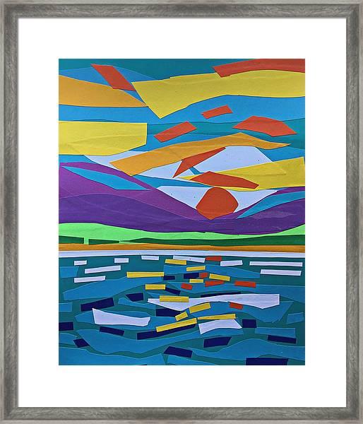 Classic Sunset Framed Print