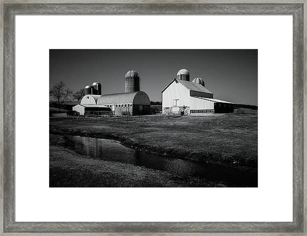 Classic Wisconsin Farm Framed Print