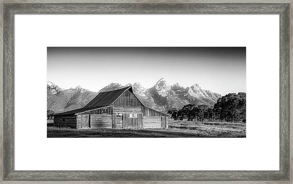 Classic Wyoming Framed Print by Peter Irwindale