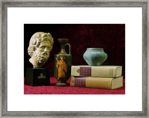 Classical Greece Framed Print
