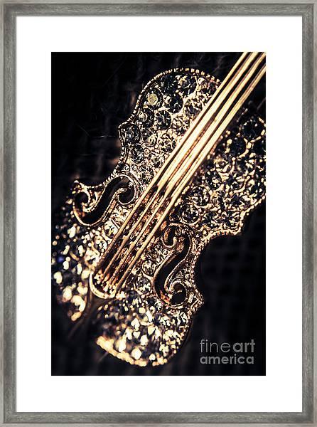 Classical Performing Art Framed Print