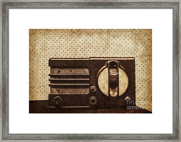 Classical Sound Framed Print
