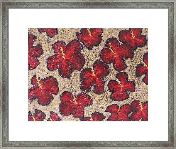 Claudia Framed Print by Tracy Fetter