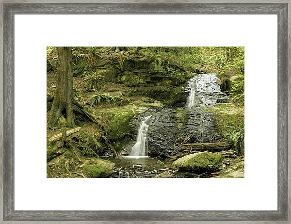 Clayton Beach Falls Framed Print