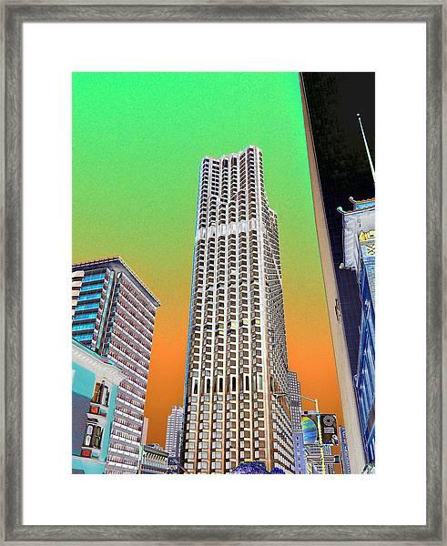 Clean Green Framed Print