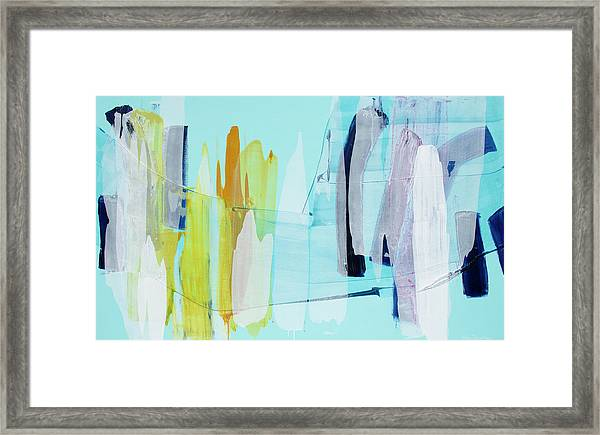 Clear As Day Framed Print