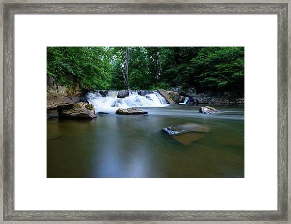 Clear Creek Framed Print