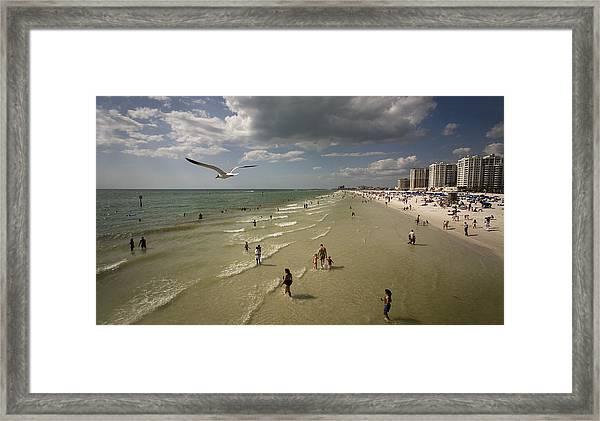 Clear Water Beach Framed Print by Patrick Ziegler