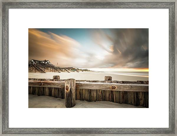Clearing Out The Rain Framed Print