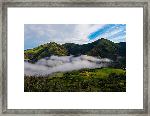 Clearing Storm, Figueroa Mountain Framed Print