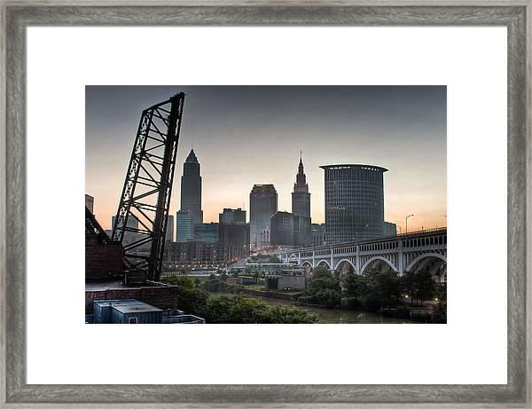 Cleveland Awakens Framed Print