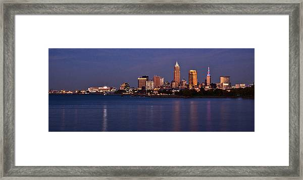 Cleveland Ohio Framed Print