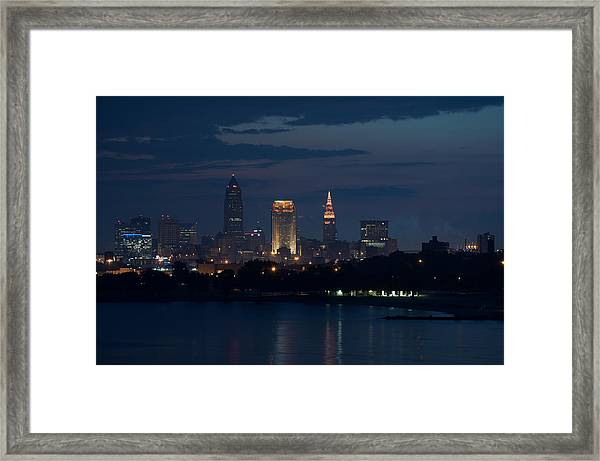 Cleveland Reflections Framed Print