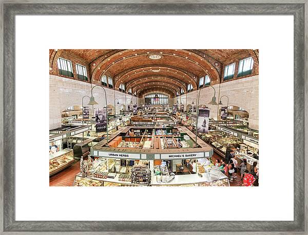 Cleveland Westside Market  Framed Print