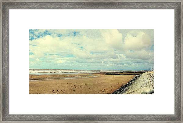 Cleveleys, Blackpool Framed Print