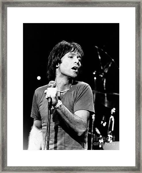 Cliff Richard 1980 Framed Print