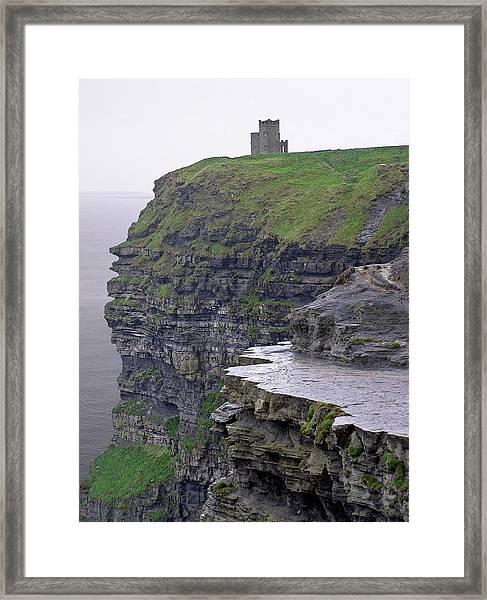 Cliffs Of Moher Ireland Framed Print