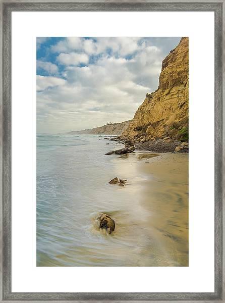 Cliffside Framed Print by Joseph Smith