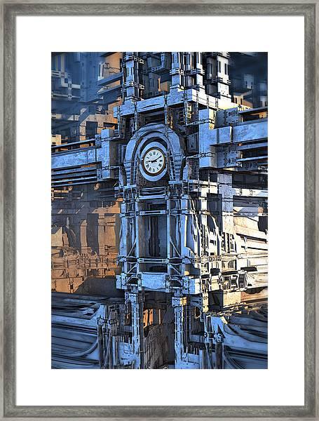 Clock Tower Framed Print